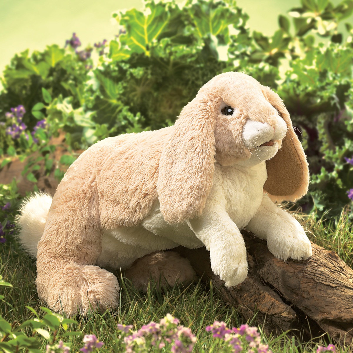 Floppy Bunny Rabbit Hand Puppet by Folkmanis Puppets